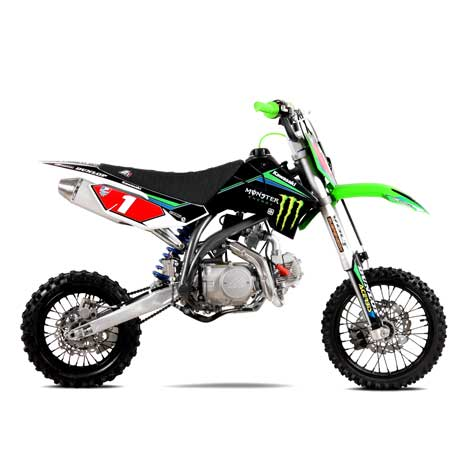 Magasin de mini motos: Dirt bike et Pit Bike, Quad, pocket bike, pocket cross.