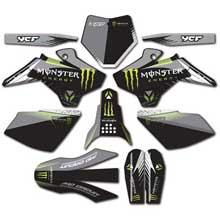 kit déco ycf monster® vert