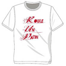 T-shirt Roule Un Patin YCF