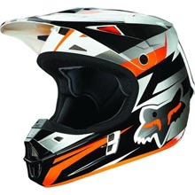 Casque FOX V1 orange FOX