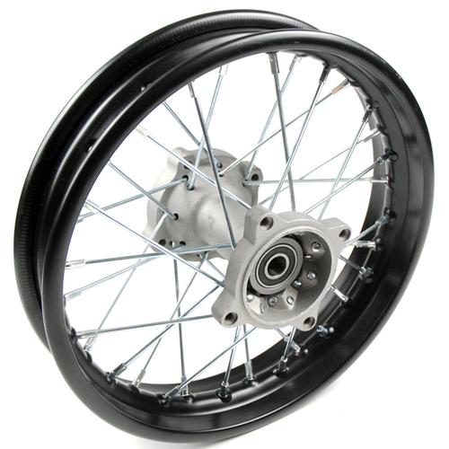 jante arriere acier 12 pouces axe 15mm dirt bike pi ces dirt bike pit bike. Black Bedroom Furniture Sets. Home Design Ideas