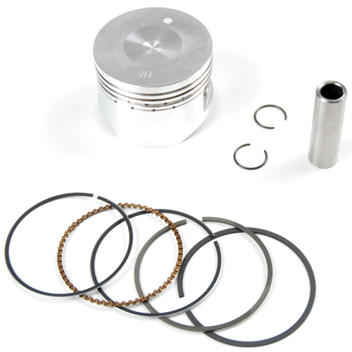 Kit piston de dirt bike 125cc YX diametre 52,4 axe 13mm