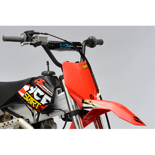 dirt bike ycf 125cc semi automatique rouge 2016 dirt bike. Black Bedroom Furniture Sets. Home Design Ideas