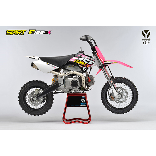 dirt bike ycf 125cc semi auto rose 2016 dirt bike. Black Bedroom Furniture Sets. Home Design Ideas