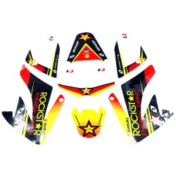 Kit decoration ROCKSTAR pour dirt bike type CRF 50
