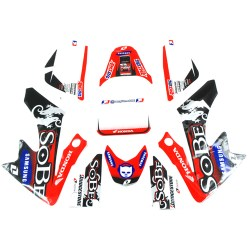 Kit deco SOBE pour dirt bike type CRF 50