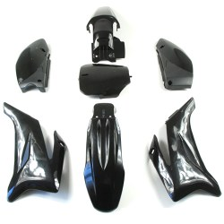 Kit plastique dirt bike type TTR noir