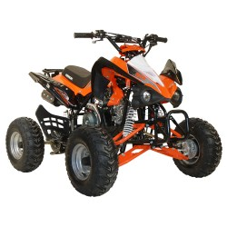 quad 110 kerox speedbird orange