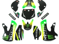 Kit deco KLX MONSTER vert