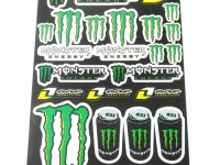 planche autocollant monster energy