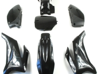 Kit plastique TTR NOIR dirt bike