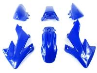 Kit plastique CRF 50 BLEU dirt bike